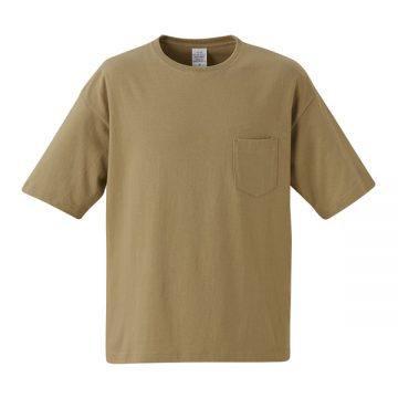 5.6オンスビッグシルエットTシャツ537.サンドカーキ