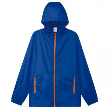 カラージップジャケット663.ブルー×オレンジ