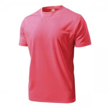 ドライライトTシャツ70.蛍光ピンク