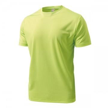 ドライライトTシャツ73.蛍光レモン