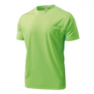 ドライライトTシャツ76.蛍光グリーン