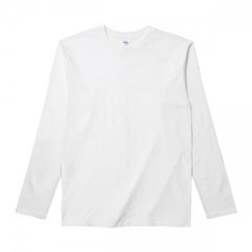 RSコットンロングTシャツ30N,ホワイト
