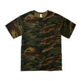 カモフラージュTシャツ 4.9オンス