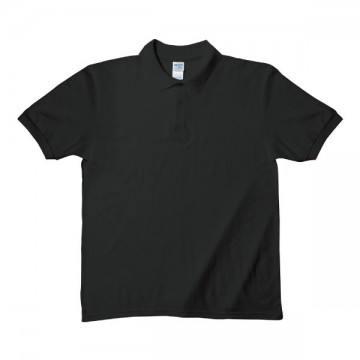 Easy Care ブレンドダブルピケポロシャツ6.3オンス36C,ブラック
