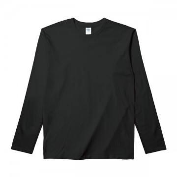 RSコットンロングTシャツ36C,ブラック