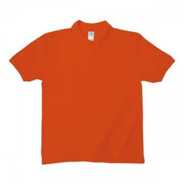 Easy Care ブレンドダブルピケポロシャツ6.3オンス37C,オレンジ