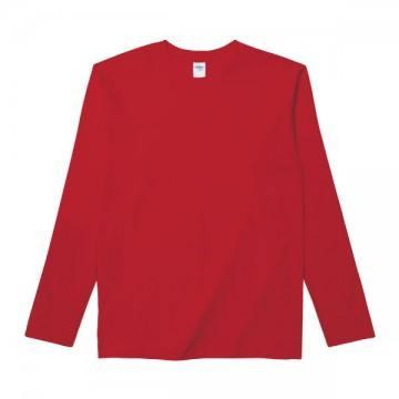 RSコットンロングTシャツ40C.レッド