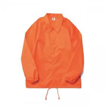 コーチジャケット(裏地なし)43.ネオンオレンジ