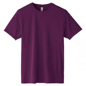 インターロックドライTシャツ014.パープル