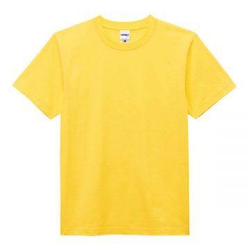 ヘビーウエイトTシャツ10.イエロー