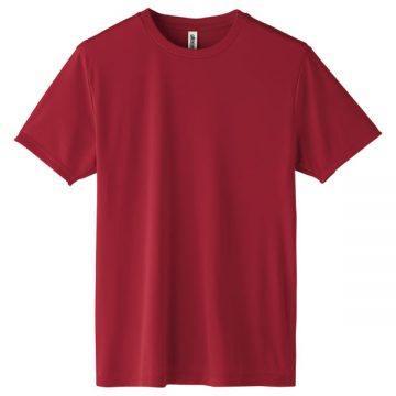 インターロックドライTシャツ112.バーガンディ