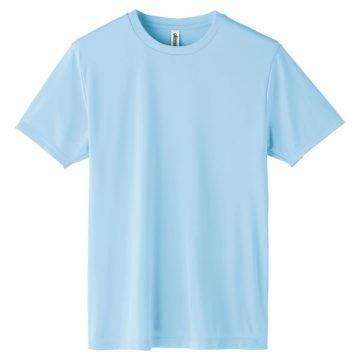 インターロックドライTシャツ133.ライトブルー