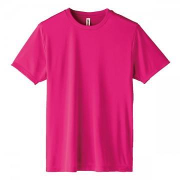 インターロックドライTシャツ146.ホットピンク