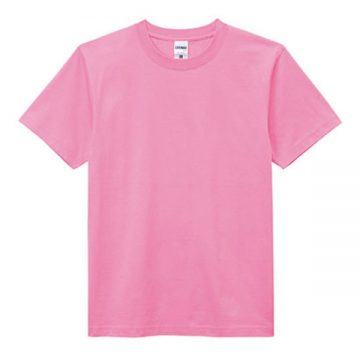 ヘビーウエイトTシャツ19.ピンク
