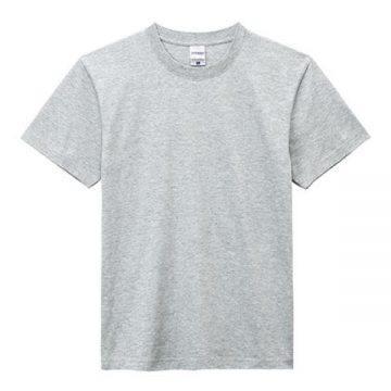 ヘビーウエイトTシャツ2.杢グレー