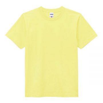 ヘビーウエイトTシャツ20.ライトイエロー