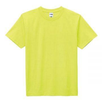 ヘビーウエイトTシャツ40.ネオンイエロー