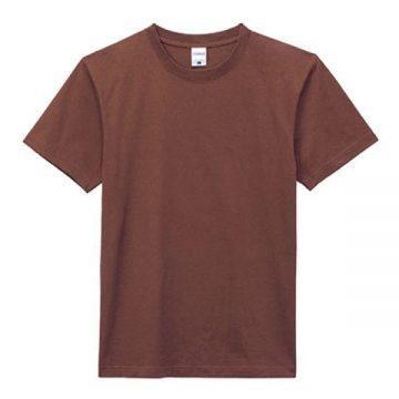 ヘビーウエイトTシャツ5.ブラウン