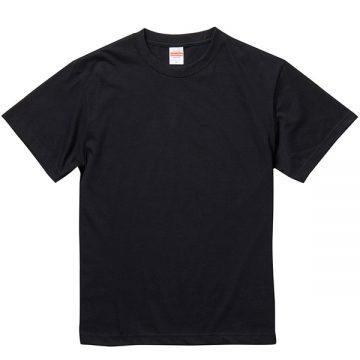 5.6オンスヘヴィーウェイトTシャツ002.ブラック
