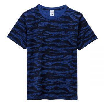 ユーロノベルティTシャツ1008.ネイビータイガーストライプ