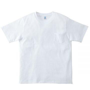 ポケット付き7.1オンスTシャツ15.ホワイト