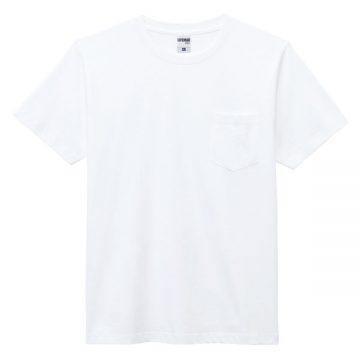 ユーロポケット付きTシャツ15p.ホワイト