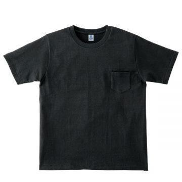 ポケット付き7.1オンスTシャツ16.ブラック