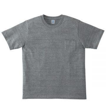 ポケット付き7.1オンスTシャツ2.杢グレー