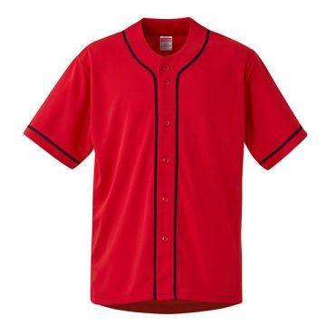 4.4オンスドライベースボールシャツ5686.レッド/ネイビー