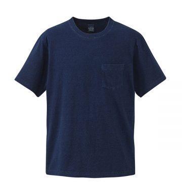 5.3オンスインディゴTシャツ586.ダークインディゴ