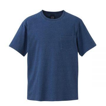 5.3オンスインディゴTシャツ587.ライトインディゴ