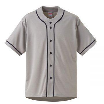 4.4オンスドライベースボールシャツ5986.グレー/ネイビー