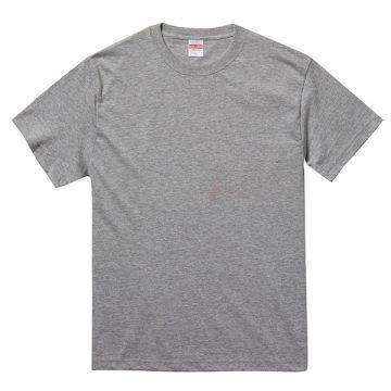 5.6オンスヘヴィーウェイトTシャツ714.ヘザーグレー