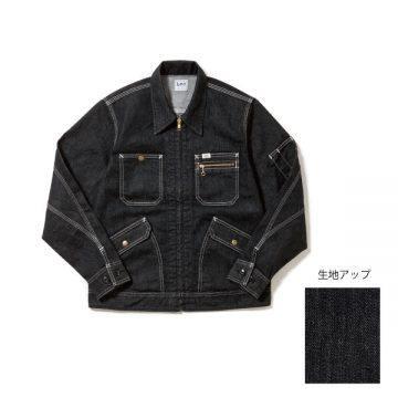 ジップアップジャケット16.ブラック