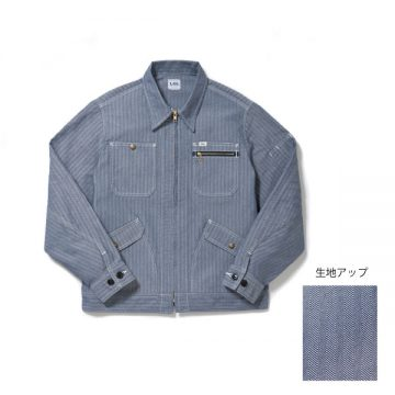 ジップアップジャケット28.ブルー