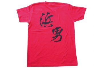 オリジナルTシャツプリントの製作