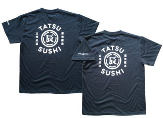 飲食店オリジナルデザインTシャツの製作