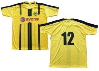 クラスTサッカーシャツのプリント
