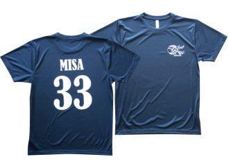 背番号ネームプリントTシャツの製作