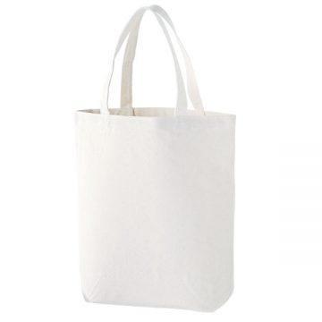 スタンダードキャンバストートバッグ(Lサイズ)001.ホワイト