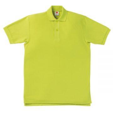 【SALE】鹿の子ポロシャツ24.アップルグリーン