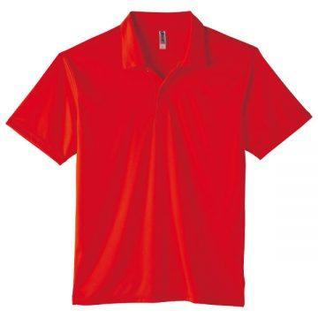 3.5オンスインターロックドライポロシャツ010.レッド