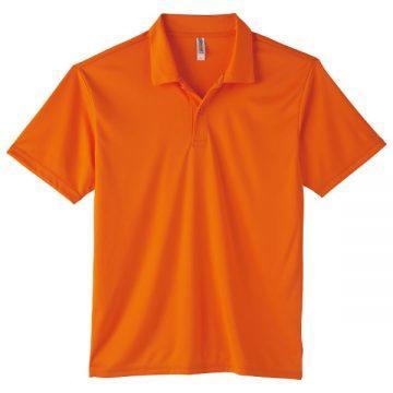 3.5オンスインターロックドライポロシャツ015.オレンジ