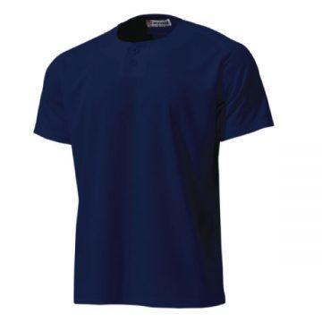 セミオープンベースボールシャツ01.ネイビー