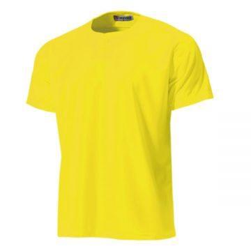 セミオープンベースボールシャツ21.イエロー