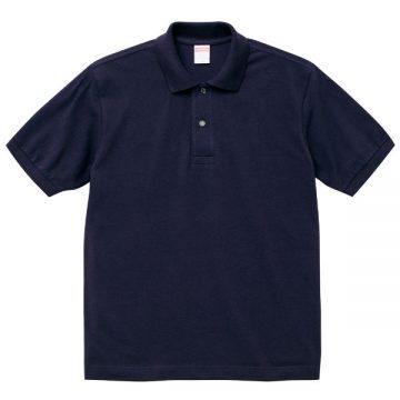 6.0オンスヘビーウェイトコットンポロシャツ086.ネイビー