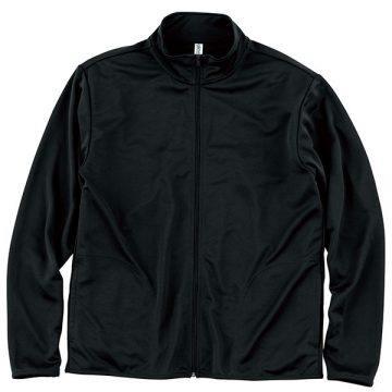 ドライジップジャケット005.ブラック
