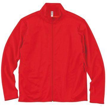 ドライジップジャケット010.レッド