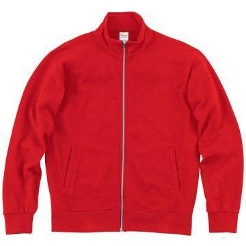 スタンダードジップジャケット010.レッド