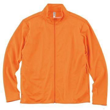ドライジップジャケット015.オレンジ